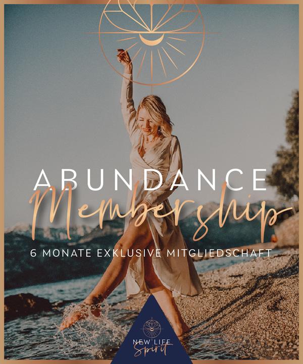 Abundance Membership Programmbild für ein ganzjähriges Onlinecoaching